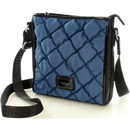 8d4445464ec8f ... MONNARI Pikowana torebka listonoszka niebieski Monnari One Size okazja  merg.pl