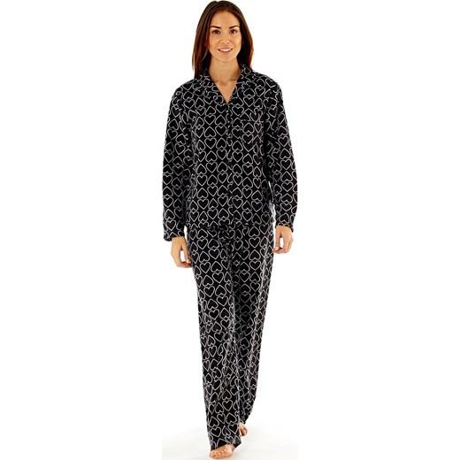 20205aedef0887 Damska polarowa piżama Jennifer Black czarny Selena Secrets Astratex w  Domodi