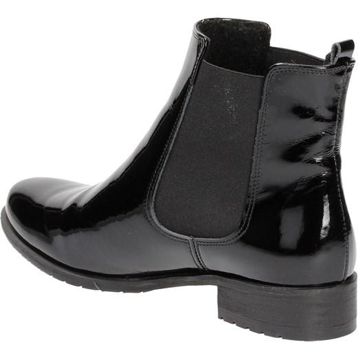 c5f829c22fc1e ... Czarne sztyblety damskie KARINO szary Karino 39 Wojtowicz Awangarda  Shoes ...