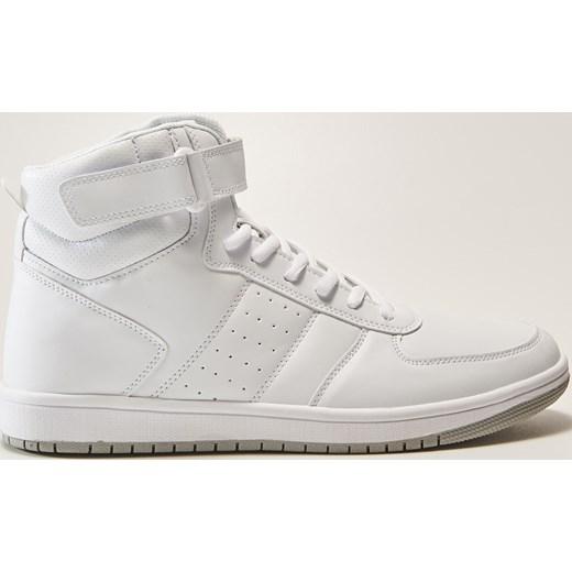5b99234e House - Sneakersy za kostkę - Biały szary House 44 ...
