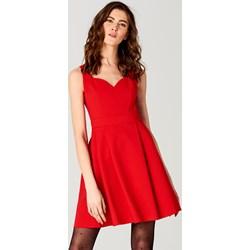 0f0d7416d4 Mohito - Czerwona sukienka z aplikacją na plecach little princess - Czerwony