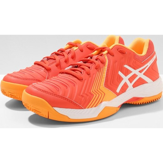 new arrival bd9bf b62ba ... ASICS GEL GAME 6 CLAY Obuwie do tenisa Outdoor coralicious white orange  pop Asics ...