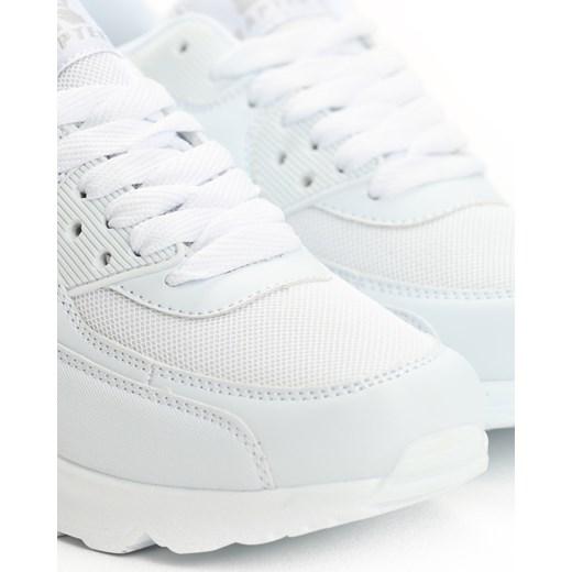 Białe Buty Sportowe Classical Nilda Renee renee.pl