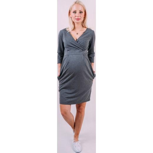 51396b558a Sukienka ciążowa grove - dresowa