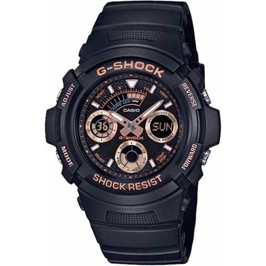 3606025ae5c81a Zegarek męski Casio G-SHOCK AW-591GBX-1A4ER czarny alleTime.pl w Domodi