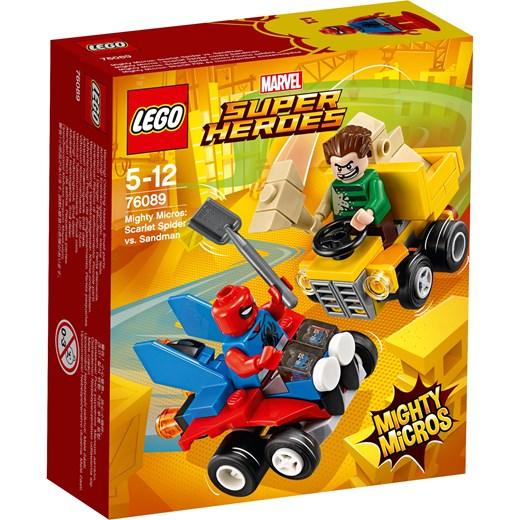 Klocki Lego Marvel Super Heroes Spider Man Vs Sandman 76089