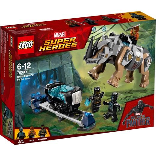 Klocki Lego Marvel Super Heroes Pojedynek Z Nosorożcem W Pobliżu