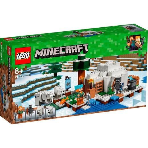 d76f8fb22 Klocki LEGO Minecraft Igloo niedźwiedzia polarnego 21142 Oficjalny sklep  Allegro w Domodi