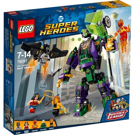Klocki Lego Dc Comics Super Heroes Starcie Z Mechem Lexa Luthora 76097 Granatowy Oficjalny Sklep Allegro