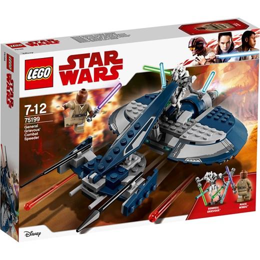 Klocki Lego Star Wars ścigacz Bojowy Generała Grievousa 75199