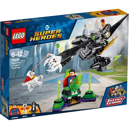 Klocki Lego Dc Comics Super Heroes Superman I Krypto łączą Siły 76096 Oficjalny Sklep Allegro