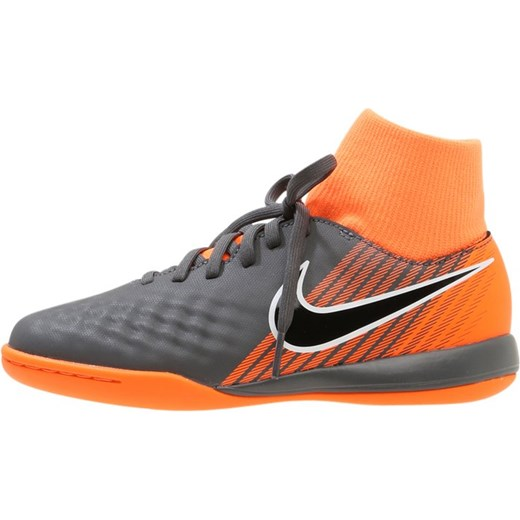 5602f5aae Nike Performance JR OBRAX 2 ACADEMY DF IC Halówki dark grey black total  orange ...