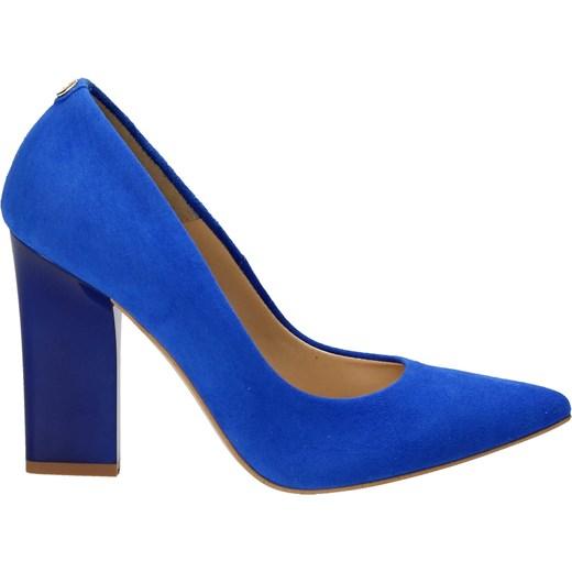 c854a092ebbf7 Niebieskie czółenka damskie WOJTOWICZ niebieski Wojtowicz 36 Wojtowicz  Awangarda Shoes ...