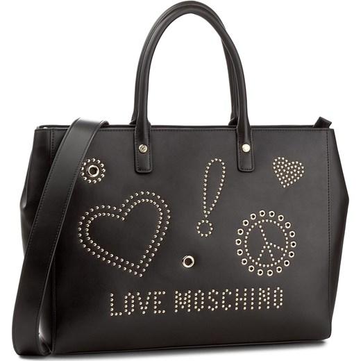e651f8034e229 Torebka LOVE MOSCHINO - JC4092PP15LM000B Galv.Oro bialy Love Moschino  eobuwie.pl