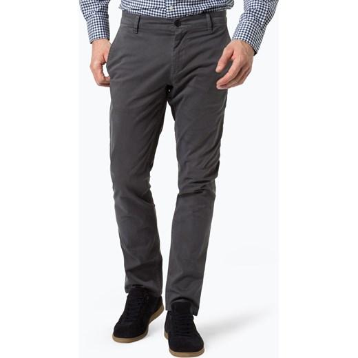 a03f11f91f039 BOSS Casual - Spodnie męskie – Schino-Regular D, szary Boss Casual szary 34