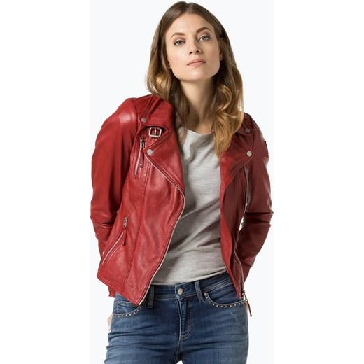 f59c8f58ae69f Freaky Nation - Damska kurtka skórzana – Biker Princess, czerwony Freaky  Nation czerwony L vangraaf