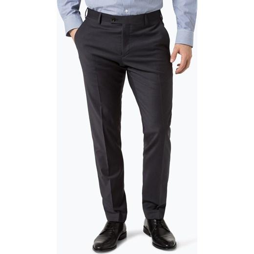 7b386ce4503e3 Finshley & Harding - Męskie spodnie od garnituru modułowego – Black  Label, szary Finshley