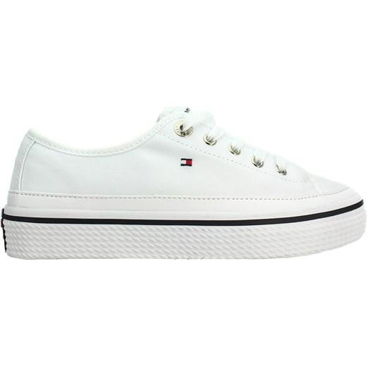 f662fb00db376 Tenisówki Corporate Flatform Sneaker FW0FW02456 White 100 Tommy Hilfiger  szary 40 Ego ...