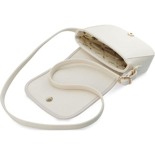 346045863abbf ... Elegancka listonoszka monnari mała torebka damska z klapką przewieszka  – kremowy bialy Monnari okazja world-