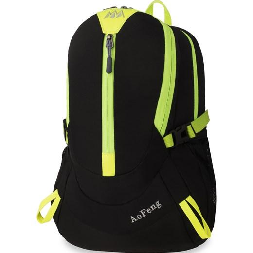 Najlepsze miejsce konkretna oferta autoryzowana strona Elastyczny plecak sportowy nieprzemakalny uniwersalny – czarny  world-style.pl