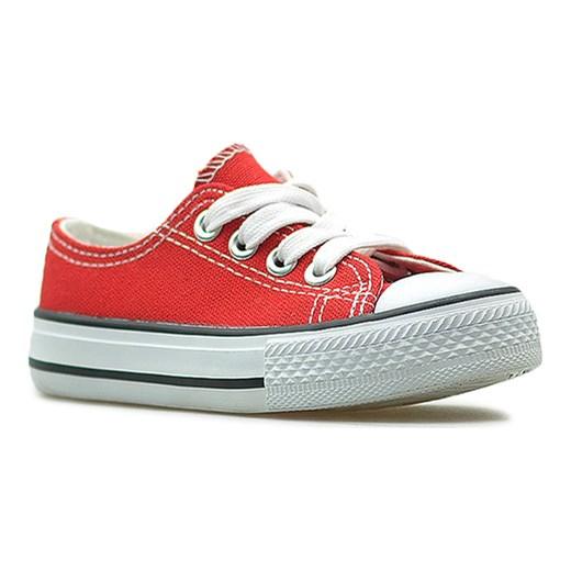 7e31658941786 Niskie trampki tenisówki dziecięce Czerwone Arturo Arturo-obuwie w ...