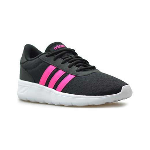 buty damskie adidas racer lite czarn różowe