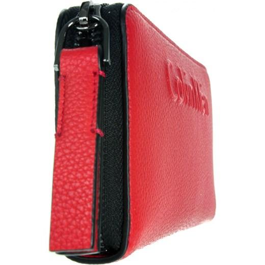 4ac00e15c7a0a ... Black Label Damski Edge Large Ziparound K60K603910 618 Calvin Klein  czerwony OS Ego ...