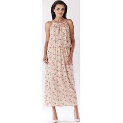 8030d6a0c8 Beżowe sukienki boho awama