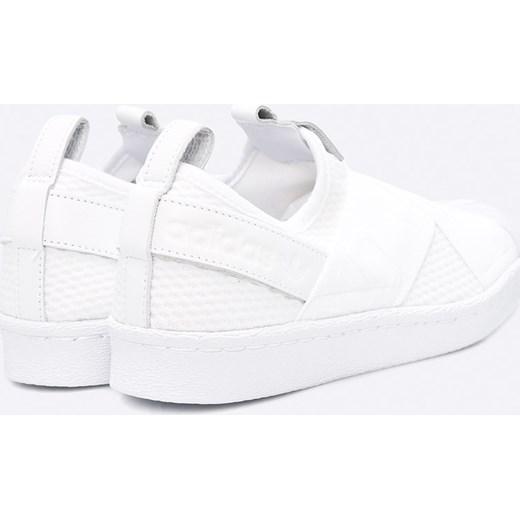... adidas Originals - Buty Superstar Slipon bialy Adidas Originals 37 1 3  ANSWEAR.com ... 490ab832125ca