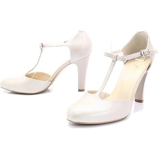 5f6b7e4e ... KOTYL 5871 PERŁA LICO - Skórzane buty ślubne doskonałe do tańca Kotyl  39 promocja Tymoteo.