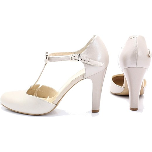 71cf8429 KOTYL 5871 PERŁA LICO - Skórzane buty ślubne doskonałe do tańca Kotyl 38  okazyjna cena Tymoteo ...