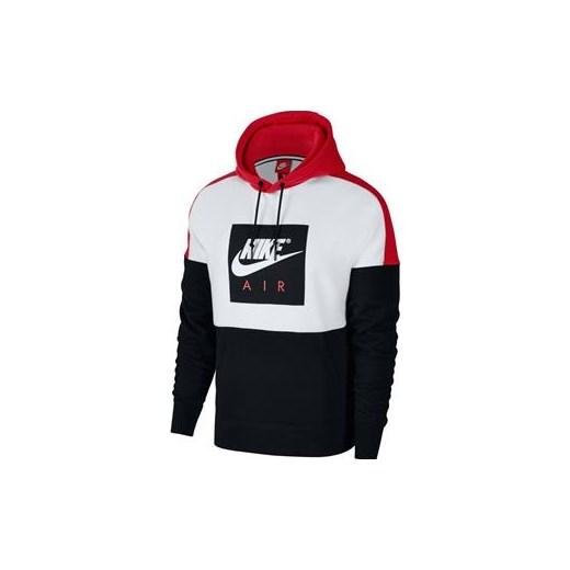 buty do biegania gorące wyprzedaże innowacyjny design Bluza z kapturem Męska Air Nike czarny Perfektsport