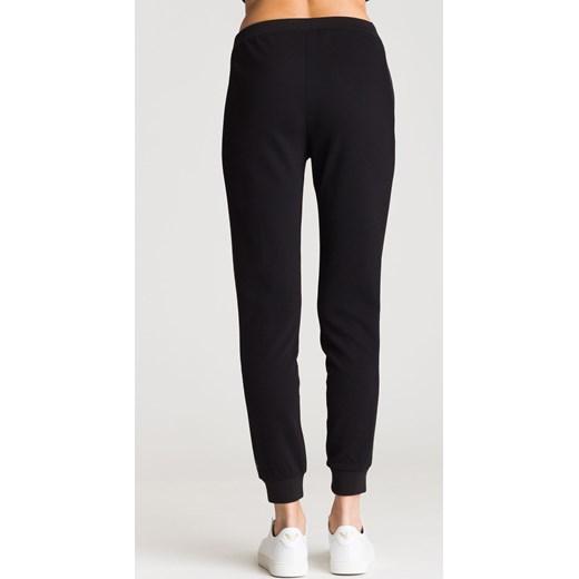 ... Czarne spodnie dresowe z białym nadrukiem Liu Jo Sport XL Velpa.pl ... 968617fa168