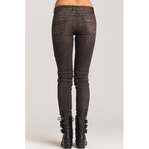 7c020038 Szare jeansy z zamkami Just Cavalli Velpa.pl