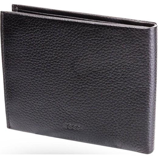 ac886ca121f7b ... Czarny skórzany portfel męski Orestes Wallet H8 szary Joop! UNI Velpa.pl