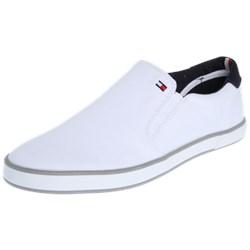 4c8867db127f3 Białe buty męskie tommy hilfiger bez zapięcia