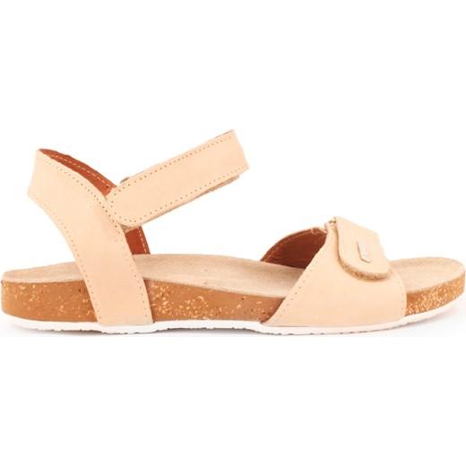 sandałki - skóra naturalna model 343 kolor beż Zapato zapato.com.pl Buty Damskie JR beżowy Sandały damskie OPSE