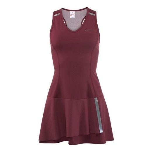 eb229c40da Damska sukienka tenisowa Head Performance Dress W - burgundy silver czerwony  Head M Strefa Tenisa ...