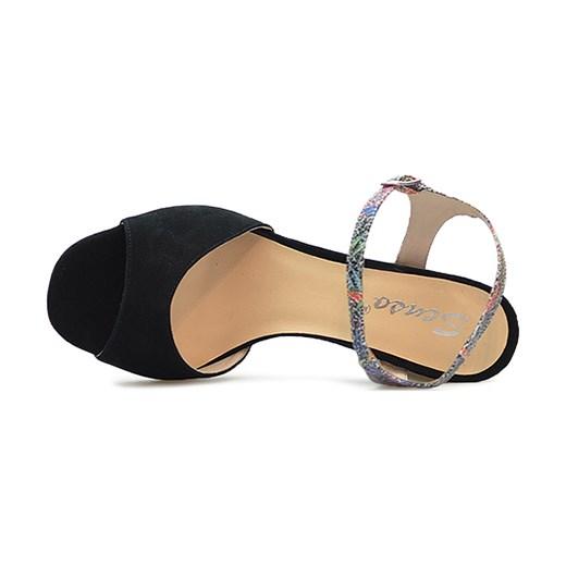 7a40867d48fcb ... Sandały Senso SONIA 2 Czarne zamsz brazowy Senso Arturo-obuwie