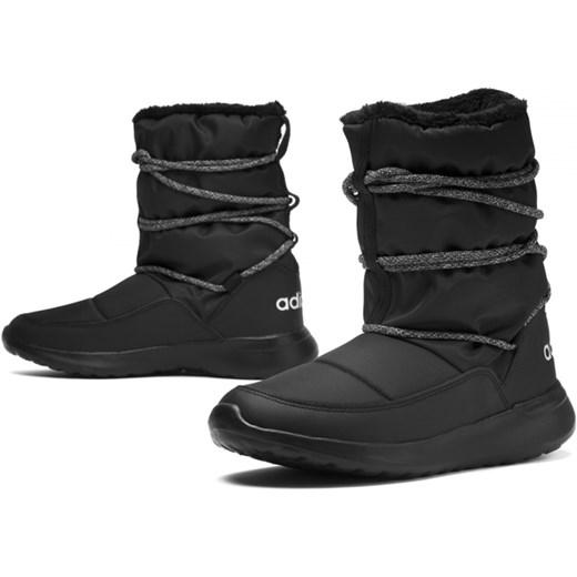 7081c327adad8 Śniegowce damskie Adidas sportowe płaskie bez wzorów w Domodi
