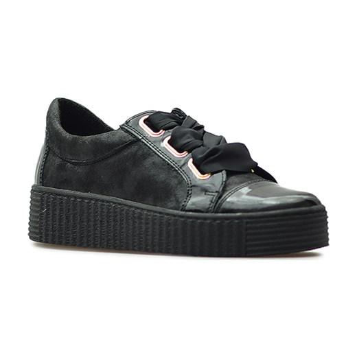 3157846cbdf9f Sneakersy Kiera 670/S-58L Czarne lico+lakier Kiera szary Arturo-obuwie ...
