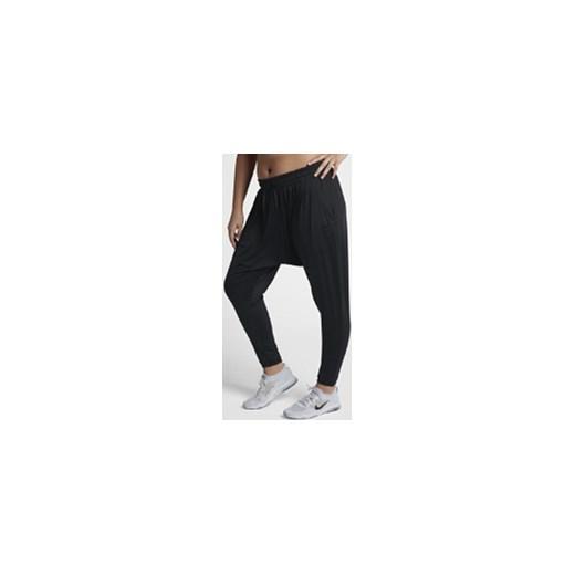 112601fccd83c6 Damskie spodnie treningowe Nike Dri-FIT Flow (duże rozmiary) - Czerń Nike  czarny