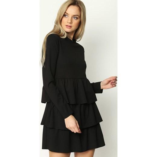 cd0e8efe88 Czarna Sukienka Modesty And Chic Renee czarny uniwersalny Renee odzież ...