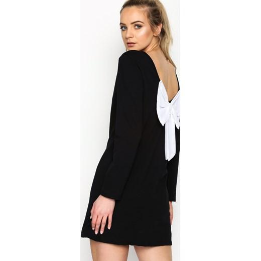 586bbc4731 Czarna Sukienka Minnie Bow czarny Renee uniwersalny Renee odzież ...