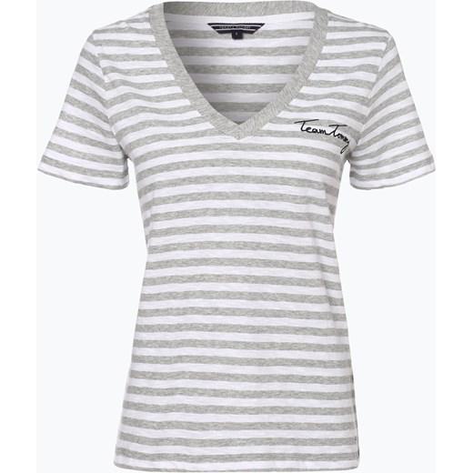 4b36129b36f87 Tommy Hilfiger - T-shirt damski, szary Tommy Hilfiger S vangraaf