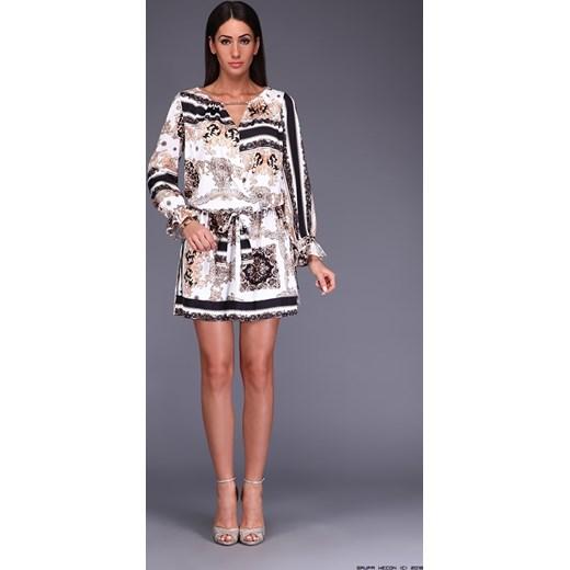 14bd317193 sukienka polscy projektanci    szyfonowa sukienka tkanina + złota biżuteria  Polscy Projektanci M LUXURYONLINE ...