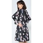 059ebbb11f ... Granatowo-Różowa Sukienka Sweety Flower Renee uniwersalny Renee odzież  ...