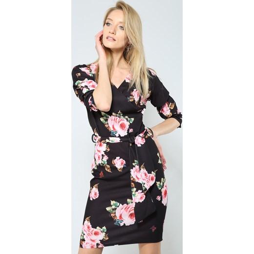 711d59100c Czarna Sukienka With Sense Renee odzież w Domodi