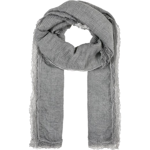 look good shoes sale uk availability great look Codello PLEATED SCARF WITH LACE BORDER Szal light grey Zalando