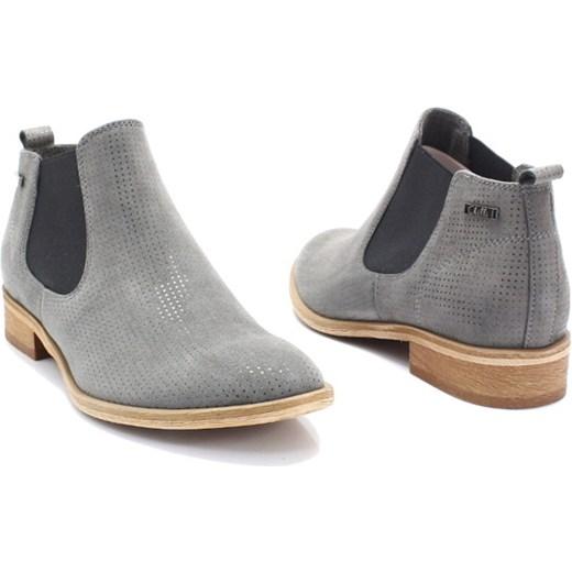 f8b87dea7aaa7 CHILLI SHOES 1398 SZARY - Klasyczne sztyblety Chilli Shoes 37 Tymoteo.pl - sklep  obuwniczy 2